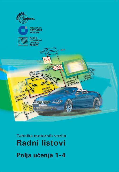 Tehnika motornih vozila - Radni listovi - Polja učenja 1-4 2018