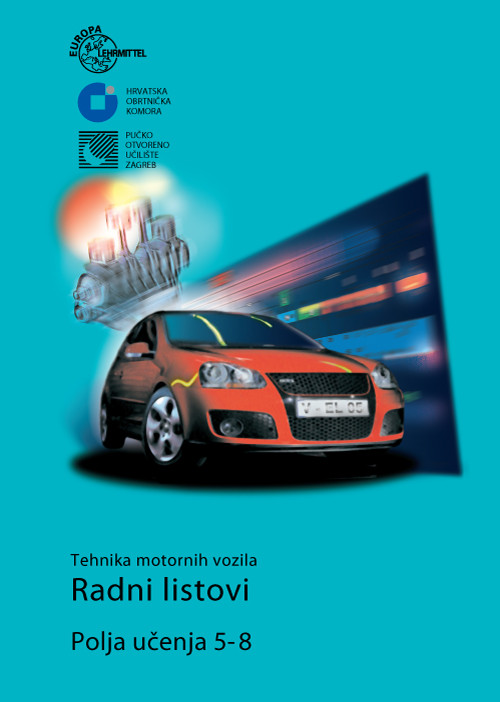 Tehnika motornih vozila - Radni listovi - Polja učenja 5-8 2017